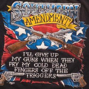 Southern (2nd) Amendment Johnny's T-Shirt Guns Biker Trucker