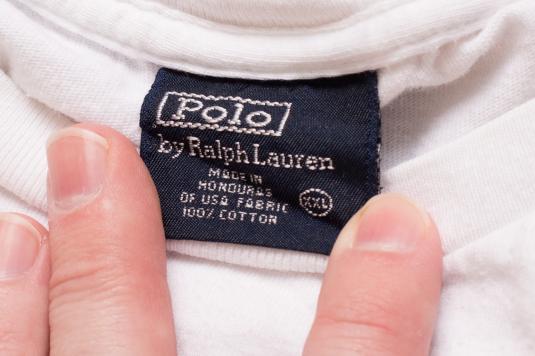 Vintage 90s Ralph Lauren Golfing Polo Bear Golf T-Shirt
