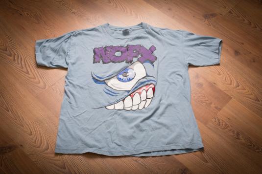 Vintage 90s NOFX Mons Tour 1994 T-Shirt, Skater Punk Rock