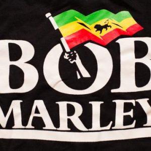 Bob Marley Crewneck Sweatshirt Jamaican Reggae Music 80s-90s
