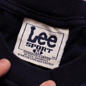 Atlanta Braves T-Shirt, Tomahawk Logo Icon, Lee Sport, 90s