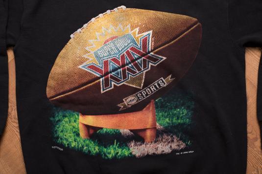 Vintage 90s NFL Super Bowl XXIX ABC Sports Sweatshirt