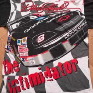 Vintage 90s Dale Earnhardt 3 NASCAR T-Shirt, All Over Print