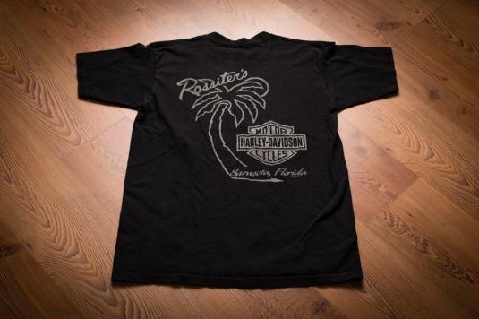90s Spirit of Harley-Davidson Wolves T-Shirt Northern Lights