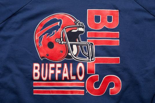 Vintage 80s Buffalo Bills Crewneck Sweatshirt, NFL Apparel