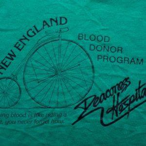 High Wheel Bike Deaconess Hospital T-Shirt, 80s Hipster Tee