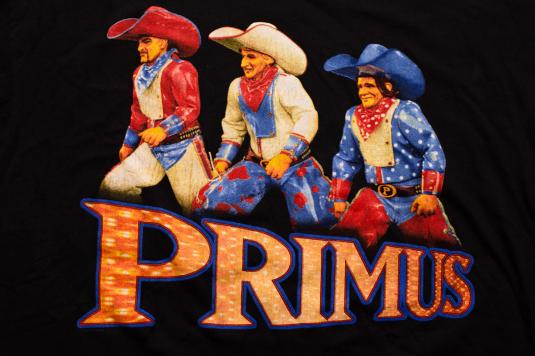 Primus T-Shirt, Cowboy Costumes, Wynona's Big Brown Beaver