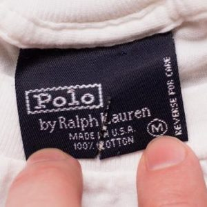 Tuxedo Polo Bear T-Shirt, Ralph Lauren, Martini Cocktail 90s