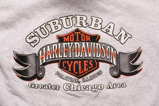 Harley-Davidson Suburban Hoodie Sweatshirt, Chicago