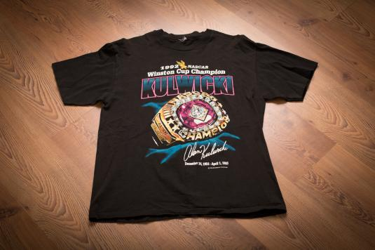 Alan Kulwicki 1992 NASCAR Winston Cup Champion T-Shirt