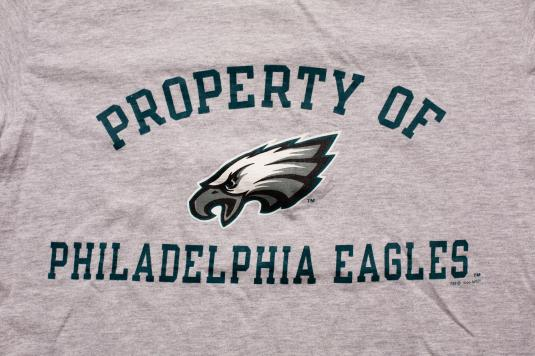 Vintage 90s Property of Philadelphia Eagles Champion T-Shirt