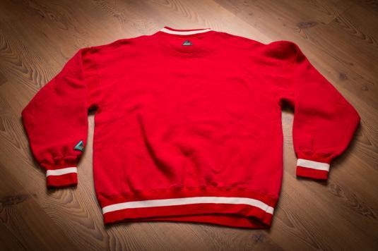 Vintage 90s Kansas City Chiefs Crewneck Ringer Sweatshirt