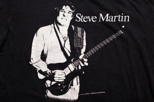 1978 Steve Martin T-Shirt, Wild & Crazy Guy Tour Vintage 70s