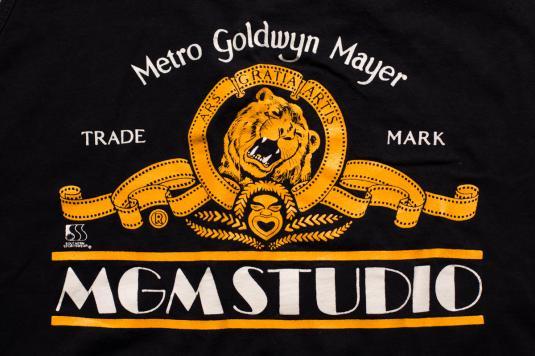 MGM Studio Tank Top, Classic Gold Film/Roaring Lion Logo