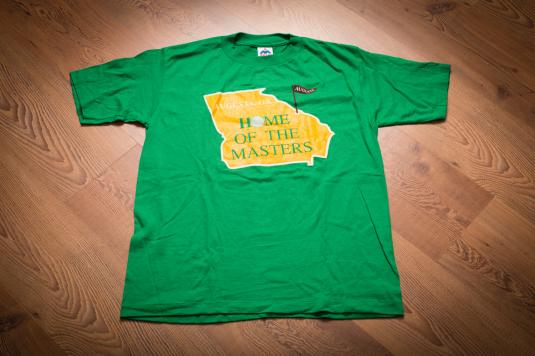 Vintage 90s Augusta, GA Home of the Masters Golf T-Shirt