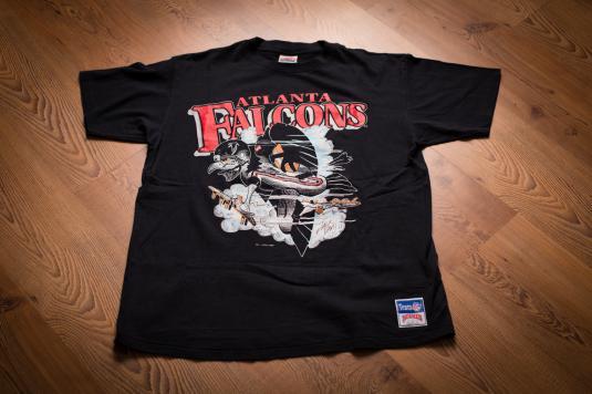 Vintage 80s Atlanta Falcons Dirty Bird T-Shirt, Jack Davis
