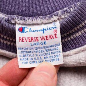 Champion Reverse Weave Crewneck Sweatshirt, Spell Out Logo