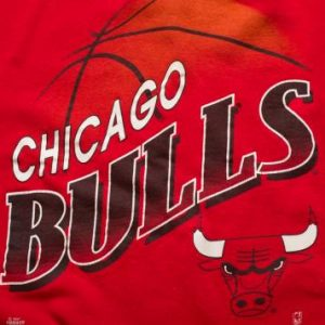 Chicago Bulls Sweatshirt, Michael Jordan Era Crewneck Shirt