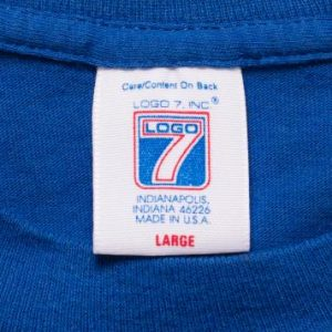 St Louis Blues T-Shirt, Logo 7 Graphic Tee, Vintage 80s-90s