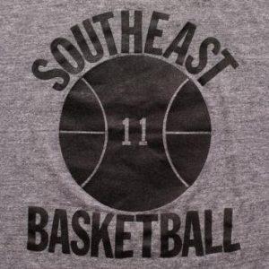 Southeast Basketball 11 Cutoff T-Shirt, Athletic Crop Top