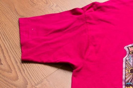 Native American Chief Dancing Ritual T-Shirt, Dark Pink