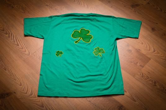 Vintage 90s Leprechaun Luck O the Irish T-Shirt, Beer & Gambling