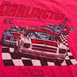 ADIDAS Darlington Raceway T-Shirt, 80s NASCAR Racing Tee