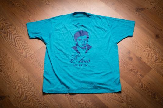 Vintage Early 80s Elvis Museum T-Shirt, Niagara Falls Canada