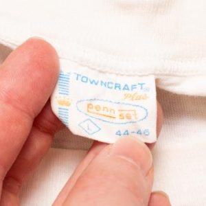 Towncraft Plus Penn Set Crewneck T-Shirt, M, Vintage 1960s