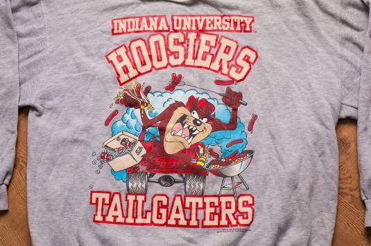 Vintage Taz Indiana Hoosiers Tailgaters Hoodie Sweatshirt
