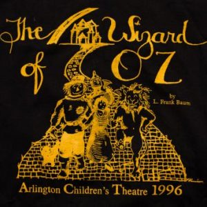 The Wizard of Oz T-Shirt, Children's Play, L. Frank Baum