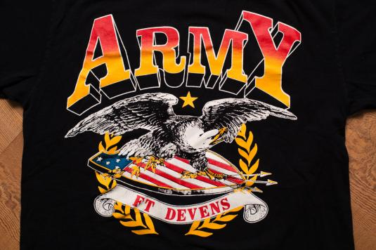 US Army Eagle & Shield T-Shirt, United States Military, 90s