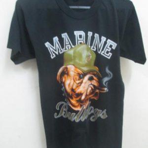 Vintage 80's Marine Bulldog T-shirt