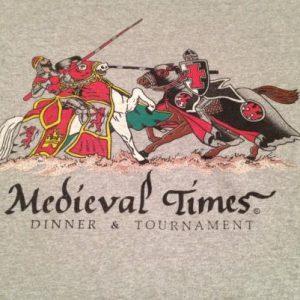 Vintage 1980s Medieval Times T Shirt