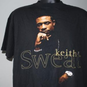 1995 Keith Sweat Vintage 80's and 90's Hip Hop / R&B T-Shirt