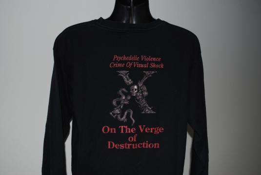 1998 X Japan Hide Rare Vintage Glam Metal Band Tour T-Shirt