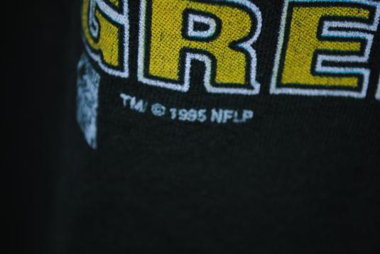 1995 Brett Favre Vintage Green Bay Packers Legend T-Shirt