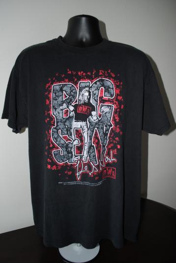 1998 Kevin Nash Vintage WCW / NWO Wolfpac Big Sexy T-Shirt