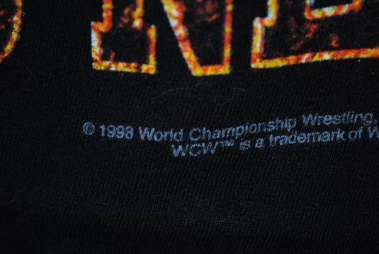 1998 Goldberg Who's Next Vintage WCW / NWO Wrestling T-Shirt