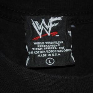 1998 Mankind Vintage WWF / WWE Mick Foley Wrestling T-Shirt