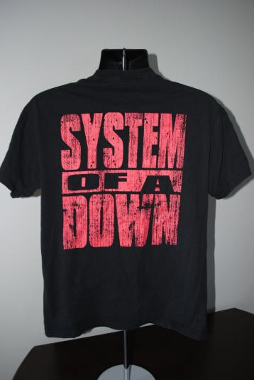 Rare 1996 System Of A Down Vintage Metal Band Demo T-Shirt