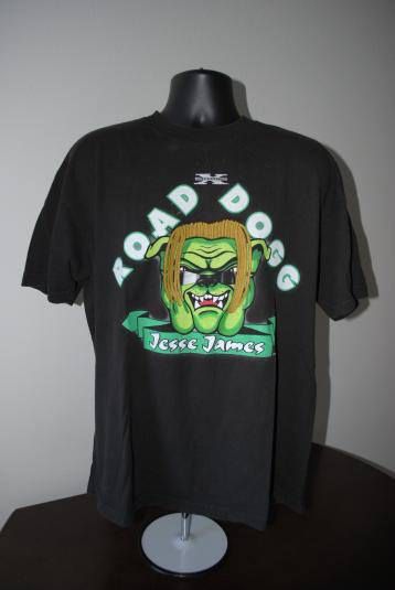 1998 Road Dog Jesse James Vintage WWF D-Generation X T-Shirt