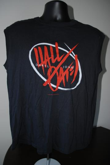 1984 Hall & Oates Vintage Big Bam Boom Concert Tour T-Shirt