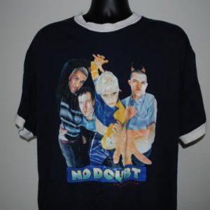 1996 No Doubt Vintage 90's Ska Punk Spiderwebs Tour T-Shirt