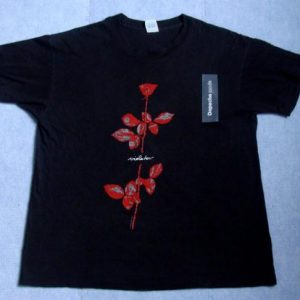 Vintage 1990 Depeche Mode Violator Tour Black T-Shirt