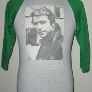 Vintage 70s 80s HAPPY DAYS FONZIE the Fonz Tshirt