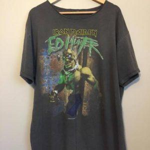 Iron Maiden; 1999 Ed Hunter Tour Tee