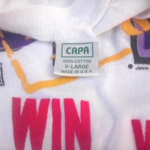 Vintage 1989 Lakers 3peat Los Angeles basketball nba t-shirt