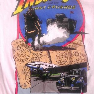 INDIANA JONES and the Last Crusade Movie Vintage t-shirt