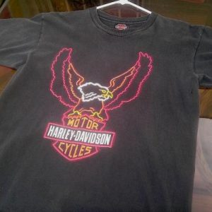 Vintage Early 90s Harley Davidson Holoubek AZ t-shirt